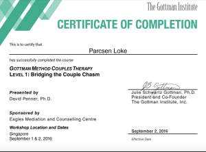 gottman-level-1-cert